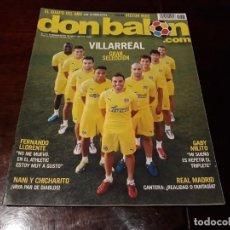 Coleccionismo deportivo: REVISTA DON BALÓN Nº1827 - VILLAREAL GRAN SELECCIÓN POSTER VICTOR CRUZ. Lote 160845358