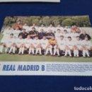 Coleccionismo deportivo: MINI POSTER LIGA 95 - 96 ( REAL MADRID B ) + FICHAS DE LOS JUGADORES DEL C.A. OSASUNA. Lote 160880746