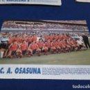 Coleccionismo deportivo: MINI POSTER LIGA 95 - 96 ( C.A. OSASUNA ) + FICHAS DE LOS JUGADORES DEL F.C. BARCELONA B . Lote 160880910