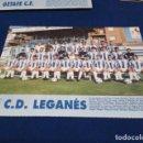 Coleccionismo deportivo: MINI POSTER LIGA 95 - 96 ( C.D. LEGANES ) + FICHAS DE LOS JUGADORES DEL GETAFE C.F.. Lote 160881754