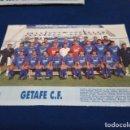 Coleccionismo deportivo: MINI POSTER LIGA 95 - 96 ( GETAFE C.F, ) + FICHAS DE LOS JUGADORES DEL R.C. CELTA DE VIGO. Lote 160882018