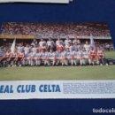 Coleccionismo deportivo: MINI POSTER LIGA 95 - 96 ( REAL CLUB CELTA ) + FICHAS DE LOS JUGADORES DEL SEVILLA F.C. . Lote 160882174