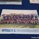 Coleccionismo deportivo: MINI POSTER LIGA 95 - 96 ( SEVILLA F.C. ) + FICHAS DE LOS JUGADORES DEL U.D. SALAMANCA. Lote 160882330