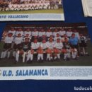 Coleccionismo deportivo: MINI POSTER LIGA 95 - 96 ( U.D. SALAMANCA ) + FICHAS DE LOS JUGADORES DEL RAYO VALLECANO. Lote 160882478