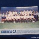 Coleccionismo deportivo: MINI POSTER LIGA 95 - 96 ( VALENCIA C.F ) 1995 - 1996. Lote 160892110