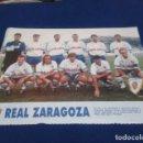 Coleccionismo deportivo: MINI POSTER LIGA 95 - 96 ( ZARAGOZA ) 1995 - 1996. Lote 160892182