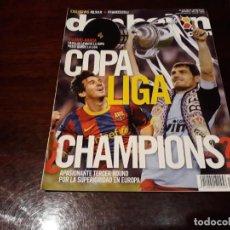 Coleccionismo deportivo: REVISTA DON BALON Nº1852 -REAL MADRID CAMPEÓN DE COPA - POSTER REAL MADRID CAMPEÓN COPA REY 2010-11. Lote 160957534