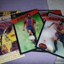Coleccionismo deportivo: LOTE DE POSTER COLECCIÓN SPORT,POSTALES GIGANTES BARÇA 97-98.LÁMINA CON RELIEVE 30 X 21 CM. Lote 160960068