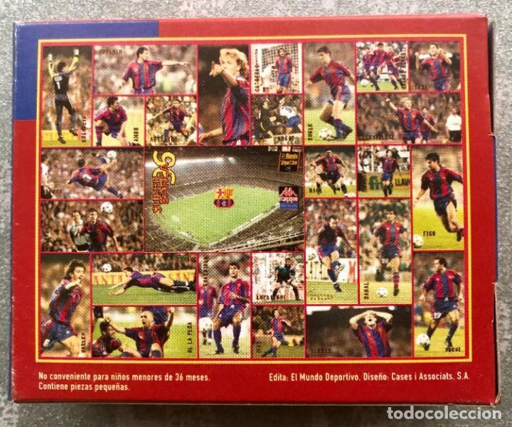 Coleccionismo deportivo: SUPER PUZZLE BARÇA1996. POSTER + PUZZLE DE LA PEÑA Y FIGO. MUNDO DEPORTIVO - Foto 6 - 161101070