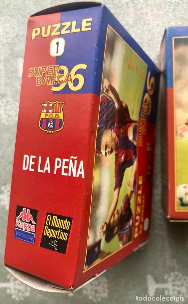 Coleccionismo deportivo: SUPER PUZZLE BARÇA1996. POSTER + PUZZLE DE LA PEÑA Y FIGO. MUNDO DEPORTIVO - Foto 7 - 161101070