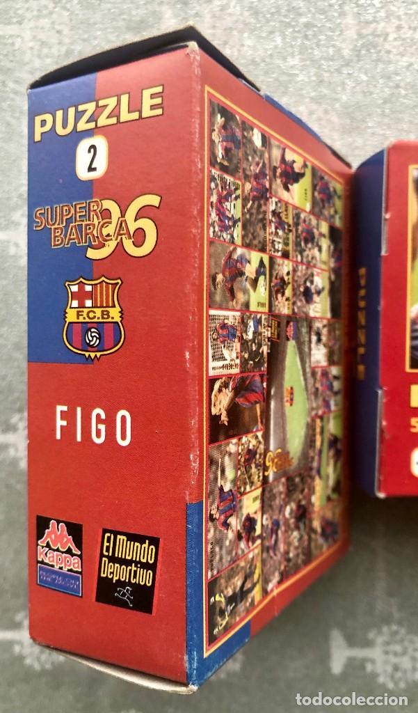 Coleccionismo deportivo: SUPER PUZZLE BARÇA1996. POSTER + PUZZLE DE LA PEÑA Y FIGO. MUNDO DEPORTIVO - Foto 9 - 161101070