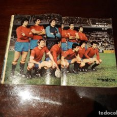 Coleccionismo deportivo: POSTER SELECCION ESPAÑOLA 80 -81. Lote 161140914