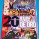 Coleccionismo deportivo: REVISTA DEPORTIVA SPORT 20 AÑOS DE ORO 1979-1999 MUNDIAL FUTBOL TENIS CICLISMO ACONTECIMIENTOS !!. Lote 161159718