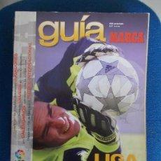 Coleccionismo deportivo: GUIA DE DE LA LIGA MARCA 2002. Lote 161296970