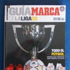 Coleccionismo deportivo: GUIA MARCA LIGA FUTBOL 2008. Lote 161309862