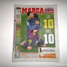 Coleccionismo deportivo: DIARIO PERIÓDICO MARCA 28-04-19 FC BARCELONA CAMPEÓN LIGA Nº 26 LIONEL MESSI BARÇA CAMPEONES TÍTULO. Lote 161602602