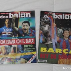 Coleccionismo deportivo: REVISTA DON BALÓN. Nº 864 Y 865. PRIMERA CHAMPIONS LEAGUE F.C BARCELONA. COPA DE EUROPA (1992). Lote 161796306