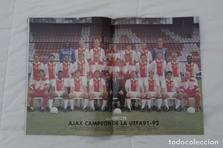 Coleccionismo deportivo: REVISTA DON BALÓN. Nº 864 y 865. CAMPEÓN BARCELONA. PRIMERA COPA DE EUROPA (1992) - Foto 3 - 161796306