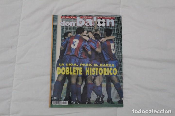 REVISTA DON BALÓN. Nº 867. DOBLETE HISTÓRICO F.C BARCELONA (1992) (Coleccionismo Deportivo - Revistas y Periódicos - Don Balón)