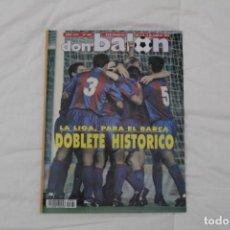 Coleccionismo deportivo: REVISTA DON BALÓN. Nº 867. DOBLETE HISTÓRICO F.C BARCELONA (1992). Lote 161796974