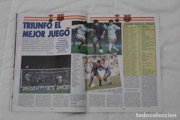 Coleccionismo deportivo: REVISTA DON BALÓN. Nº 867. DOBLETE HISTÓRICO F.C BARCELONA (1992) - Foto 3 - 161796974