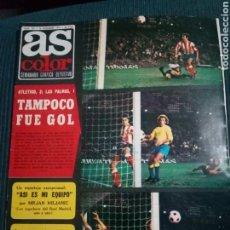 Coleccionismo deportivo: AS COLOR.1975.N 239.POSTER FC.BARCELONA.. Lote 161867310