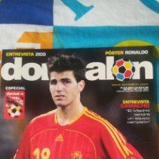Coleccionismo deportivo: DON BALON NÚMERO 1602 DIEGO RIVAS, CAMACHO, MUNDIAL ALEMANIA 2006,POSTER RONALDO DE BRASIL. Lote 161877277