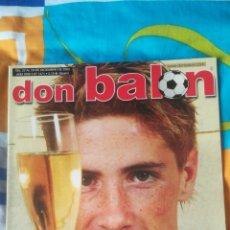 Coleccionismo deportivo: DON BALON NÚMERO 1471 FERNANDO TORRES, RAFA BENÍTEZ.... Lote 161877572