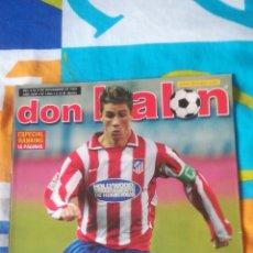Coleccionismo deportivo: DON BALON NÚMERO 1464 FERNANDO TORRES, DEPORTE, VÍCTOR FERNÁNDEZ. Lote 161878429