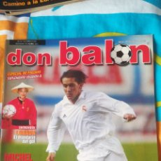 Coleccionismo deportivo: DON BALON NÚMERO 1373 AGUADO, MICHEL SALGADO, COPA LIBERTADORES.... Lote 161883750