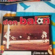 Coleccionismo deportivo: DON BALON NÚMERO 1383 NADAL, CLEMENTE, PÓSTER DEL MÁLAGA. Lote 161887494