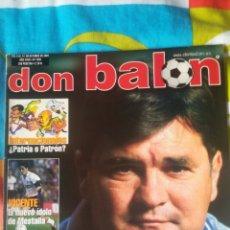 Coleccionismo deportivo: DON BALON NÚMERO 1356 CAMACHO, ADRIANO, BURGOS.... Lote 161887709