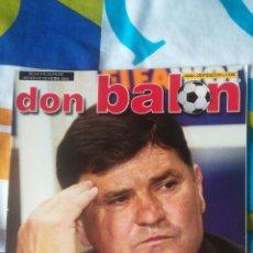 Coleccionismo deportivo: DON BALON NÚMERO 1395 CAMACHO, DJUKIC, DENILSON, PÓSTER DE RONALDO BRASIL. Lote 161888316