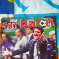 Coleccionismo deportivo: DON BALON NÚMERO 1326 CAPELO, HASSELBAINK, REAL SOCIEDAD EN PÓSTER. Lote 161888545