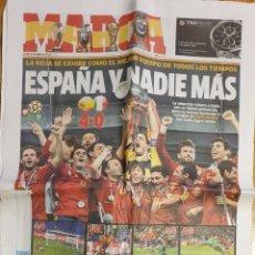 Coleccionismo deportivo: MARCA ESPAÑA CAMPEONA EUROCOPA 2012. Lote 161950926