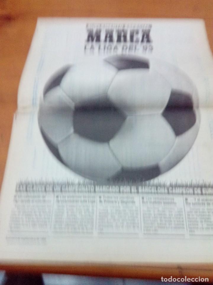 SUPLEMENTO ESPECIAL MARCA LA LIGA DEL 93. EST1B1 (Coleccionismo Deportivo - Revistas y Periódicos - Marca)