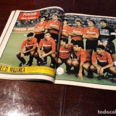 Coleccionismo deportivo: POSTER DEL RCD MALLORCA 1990-91. Lote 162021798