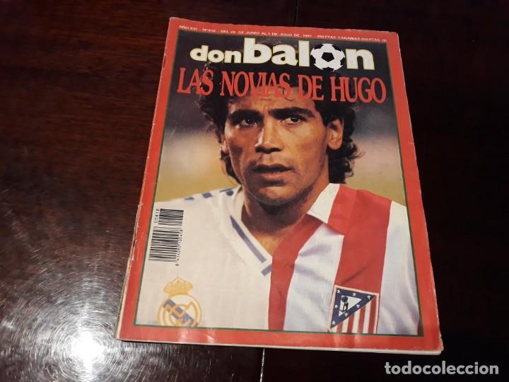 REVISTA DON BALON Nº 818 - HUGO SANCHEZ , ENTREVISTA A FONDO - (Coleccionismo Deportivo - Revistas y Periódicos - Don Balón)