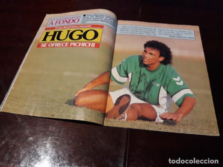 Coleccionismo deportivo: REVISTA DON BALON Nº 818 - HUGO SANCHEZ , ENTREVISTA A FONDO - - Foto 2 - 162025702
