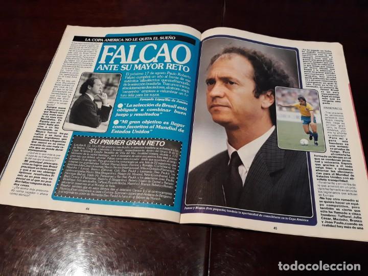Coleccionismo deportivo: REVISTA DON BALON Nº 818 - HUGO SANCHEZ , ENTREVISTA A FONDO - - Foto 3 - 162025702