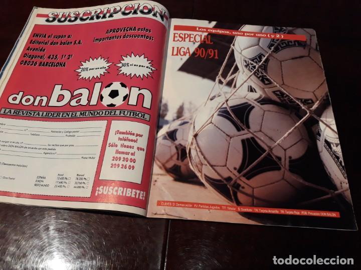 Coleccionismo deportivo: REVISTA DON BALON Nº 818 - HUGO SANCHEZ , ENTREVISTA A FONDO - - Foto 4 - 162025702