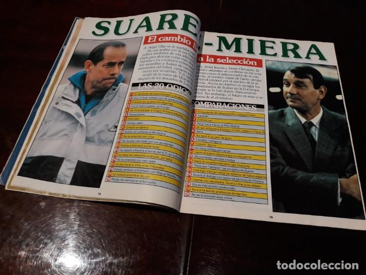 Coleccionismo deportivo: REVISTA DON BALON Nº 818 - HUGO SANCHEZ , ENTREVISTA A FONDO - - Foto 5 - 162025702