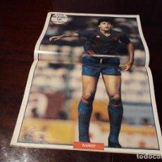 Coleccionismo deportivo: POSTER NANDO BARCELONA. Lote 162031534