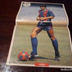 Coleccionismo deportivo: PÓSTER DE NADAL DEL BARCELONA C.F. Lote 162102574