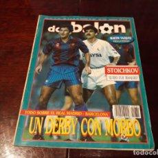 Coleccionismo deportivo: REVISTA DON BALON Nº 834 - STOICHKOV A FONDO - MARTIN VAZQUEZ EN EL CALCIO .. Lote 162142018