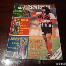 Coleccionismo deportivo: REVISTA DON BALON Nº 841 - HIGUITA ¿ SI O NO ? - RODAX , EL PEOR NEGOCIO - LAUDRUP -. Lote 162372302