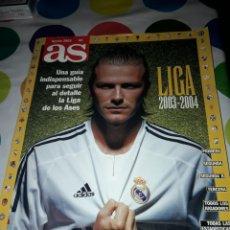 Coleccionismo deportivo: AS. GUIA LIGA 2003 / 2004.. Lote 186306748
