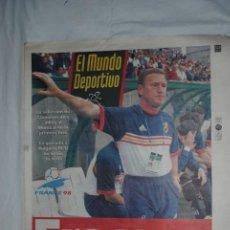 Coleccionismo deportivo: EL MUNDO DEPORTIVO 23 - JN - 1998 . Lote 162629318