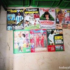 Coleccionismo deportivo: LOTE 7 REVISTAS DON BALON,NUM 241,375,780,344,233,338,210. Lote 162933038