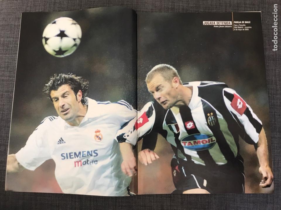 Coleccionismo deportivo: Don balón 1439 - póster Saviola - Barcelona - Guti - Oporto - Copas Europeas - Foto 2 - 163565605